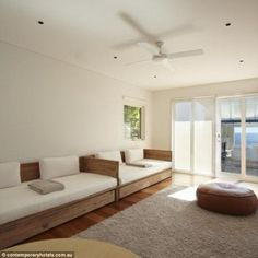 @Rumpus room: The split level home has a generous size rumpus room downstairs, which leads out to the lawn and pool area
