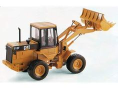 CAT 918F Wheel Loader Diecast Model Loader by Joal C177 This CAT 918F Wheel Loader Diecast Model Loader is Yellow and features working bucket, lift arm, wheels. It is made by Joal and is 1:25 scale (approx. 30cm / 11.8in long).    #Joal #ConstructionModel #CAT