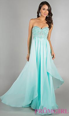 Beaded Prom Dress by Dave and Johnny 7608 at PromGirl.com Gorgeous mint coloured prom dress with beading