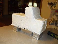 Easy Dump Truck Cakes | The Simple Cake: Dump Truck Cake