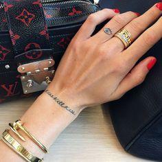 « New bling bling ring ✨✨ @boucheron #TheBlondeSaladNeverStops »