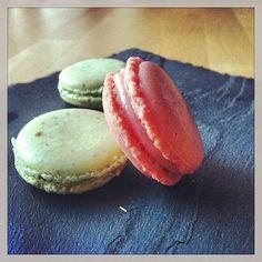 Macaron Barbe à papa et Macarons Menthe-Chocolat... Maison bien sur ! – avec Elyna Chan.