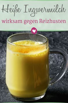 Home remedies for irritable cough: hot milk with ginger and honey .-Hausmittel gegen Reizhusten: Heiße Milch mit Ingwer und Honig A great home remedy for irritating cough: hot milk with ginger and honey. # home remedies - Healthy Eating Tips, Healthy Nutrition, Healthy Drinks, Healthy Life, Clean Eating, Healthy Food, Nutrition Drinks, Stay Healthy, Healthy Recipes
