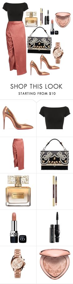 """""""Dressed well for church #2"""" by andiswas ❤ liked on Polyvore featuring Christian Louboutin, Helmut Lang, Sies Marjan, Fendi, Givenchy, Yves Saint Laurent, Christian Dior, MAC Cosmetics, Michael Kors and Too Faced Cosmetics"""