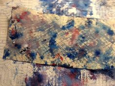 Dye Fabric with Snow! Thoughts on Thursday: inspiration strikes - Around the Corner with Barb - Cloth Paper Scissors