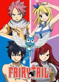 Imagine if you took a Japanese RPG like Final Fantasy and turned it into an anime. That's kind of what Fairy Tail is. There's a guild full of adventurers with different powers and abilities that form teams and go on quests together. It's like Bleach, Naturo and One Piece's loveable little bother.