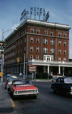 Bristol Hotel in 1963, Bristol Tennessee