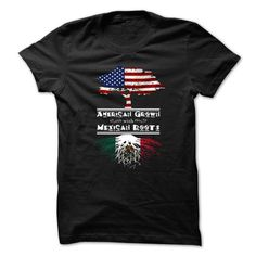 American Grown With Mexican Roots Great T-Shirts, Hoodies, Sweatshirts, Tee Shirts (19$ ==> Shopping Now!)