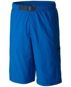 Columbia Men's Palmerston Peak Performance Sun Protection Cargo Shorts - Blue XXL