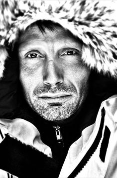Great photo of mads. Love his eyes and the furry hood...