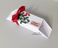 Stampin Up France, Christen, Facial Tissue, Diy, Scrapbooking, Noel, Small Gifts, Advent Calendar, Tree Pendant