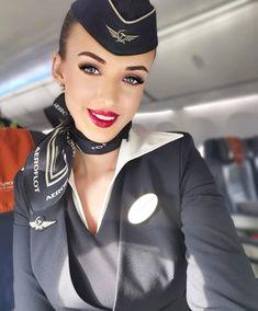 Flight Girls, Maria Sarapova, Female Pilot, Female Form, Airline Uniforms, Flight Attendant, Cabin Crew, Scarf Styles, Beautiful Women