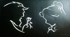 beauty and the beast outline - Google Search