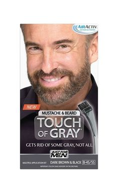 Just for Men Brush-In Color Gel for Mustache, Beard & Sideburns ...