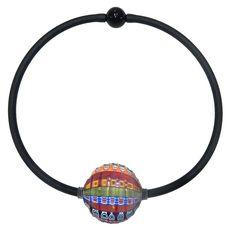 VENEZIA • Millefiori Murano Necklace • MULTI-COLOR Murano Glass Beads, Glass Pendants, Fashion Colours, Glass Necklace, Classic Style, Luxury, Handmade, Color, Jewelry