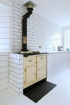 Heath Cottage refurbished kitchen modern-kueche