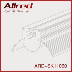 2016 New design fan shape 48w 60w 4ft 5ft led tube light fixture,led hanging lighting