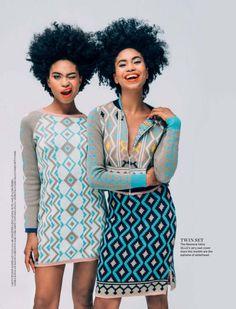 geometric outfits