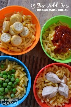 13 Fun Boxed Mac and Cheese Add-Ins - Get the Kids in the Kitchen with B-Inspired Mama - #Sponsored #MealtimeSolutions