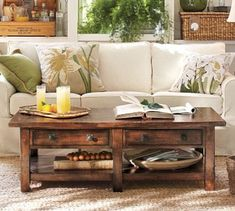 **YES! This is the type of coffee table that we have been wanting! First project for new home!** Pottery Barn Benchwright Coffee Table that is 700 dollars can be made for a WHOLE LOT cheaper by DIY!!!