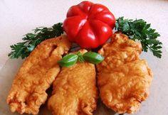 Magyaros bundában sült csirkemell Chicken, Meat, Food, Google, Essen, Meals, Yemek, Eten, Cubs