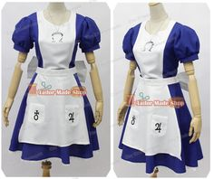 Alice Madness Returns Alice Cosplay Costume by TailorShop88