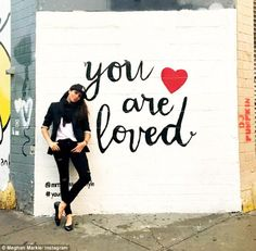 Meghan Markle has posted an article on Valentine's Day where she dishes out advice to lonely hearts on February 14 encouraging them to love themselves