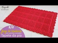 Crochet How to crochet doily Part 1 Crochet doily rug tutorial - Pillow Crochet Poncho Au Crochet, Crochet Doily Rug, Stitch Crochet, Tunisian Crochet Stitches, Basic Embroidery Stitches, Crochet Potholders, Single Crochet Stitch, Crochet Stitches Patterns, Crochet Cable