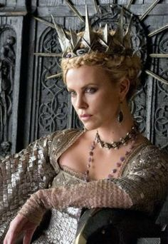 Charlize Theron as Evil Queen Ravenna in Snow White & the Huntsman.