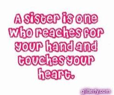 Best Sister Cards quotes | Glitterfy.com - sister Glitter Graphics ...