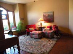 Southwest Sitting Room at 208 Nico Trail in Los Ranchos de Albuquerque New Mexico Home For Sale