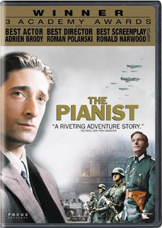 I fell in love with Adrien Brody in this movie. The drama seen through the eyes of a Jewish man in Poland during WWll. a 20 on a scale of 1-10