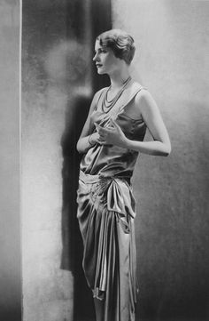 "Lee Miller in - of all things - a 1928 Kotex advert (""It has women's enthusiastic approval!""). Photo: Edward Steichen."