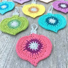 atty's: Crochet for Christmas: Vintage Ornament