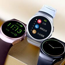 Smart watch Round Screen with Heart Rate monitor Heart Rate Monitor, Baby Items, Smart Watch, Watches, Shopping, Ebay, Android, Clock, Smartwatch