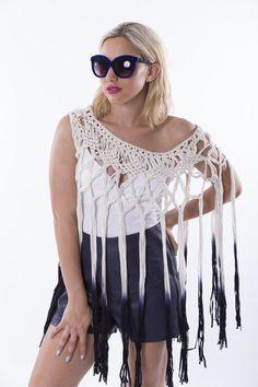 Crochet Cover Up, Collection, Tops, Dresses, Fashion, Vestidos, Moda, Fashion Styles, Dress