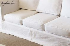 How to Make a Slipcover- Part 2