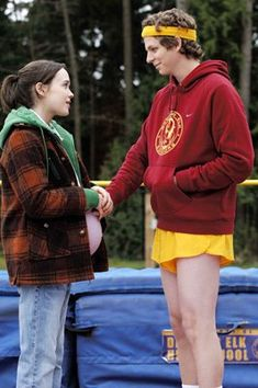 Juno and Paulie- Juno...watched this movie with my teenage daughter.  One of those rare movies that really mattered.