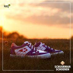 Cool white and blue sneakers for boys - Keq | Stoere lage jongens sneakers van Keq!