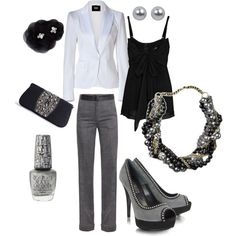 You can never go wrong with black, white & gray