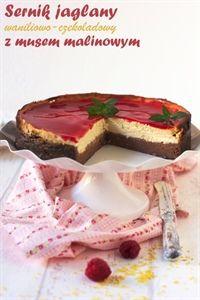 Vanilla and chocolate millet cheesecake Cupcake Cakes, Cupcakes, Healthy Sweets, Holiday Treats, Macarons, Tiramisu, Ciabatta, Cheesecake, Vanilla