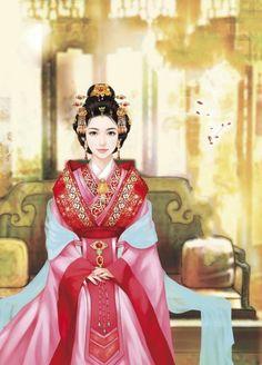 红妆美人来自曲奇恋威化的图片分享-堆糖;