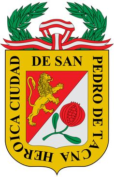 San Pedro de Tacna #Tacna #EscudodeTacna