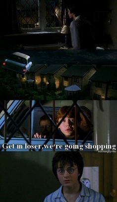Harry Potter with Mean Girls quotes never gets old