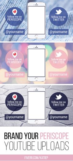 Brand your Periscope