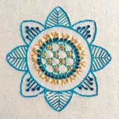 "416 Me gusta, 7 comentarios - MagaMerlina (@magamerlina_) en Instagram: ""Embroidered Mandala #embroideredmandala #mandala #mandalas #mandalaart #embroidery #embroideryart…"""