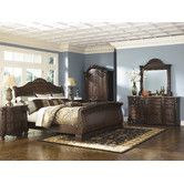Found it at Wayfair - North Shore Sleigh Customizable Bedroom Set