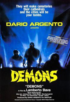 Film-fanartikel Filme & Dvds Poster Plakat Aufkleber Sticker 1982 Dario Argento Tenebre