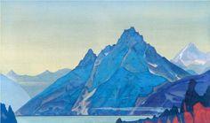 Lake of the Nagas - Nicholas Roerich  1932