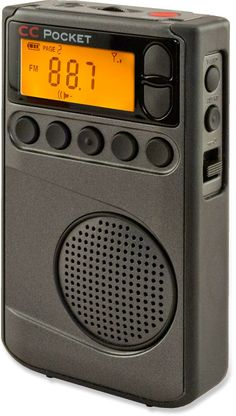 The compact, easy-to-use C Crane CC WX pocket radio receives AM, FM and weather channels. #REIGifts